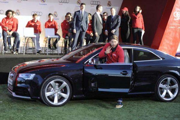 Audi RS5 Серхио Рамоса