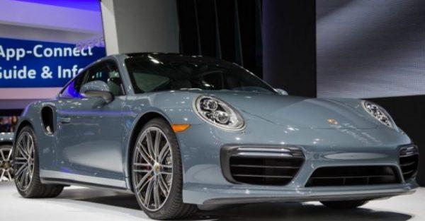Porsche 911 Carrera S Серхио Рамоса