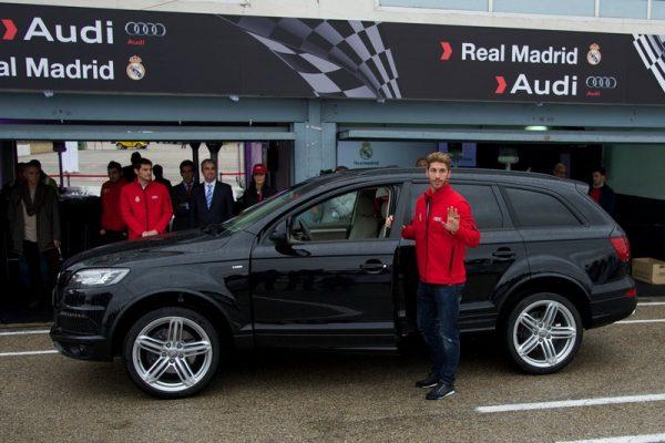 Audi Q7 Серхио Рамоса