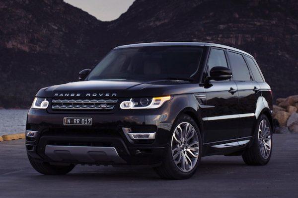 Range Rover Sport Серхио Рамоса