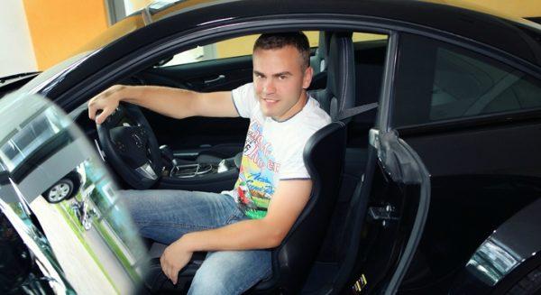 Mercedes-AMG SL 65 Игоря Акинфеева