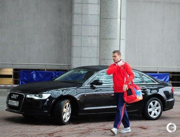 Audi R8 Игоря Акинфеева