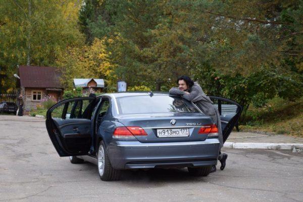 BMW 745i Филиппа Киркорова