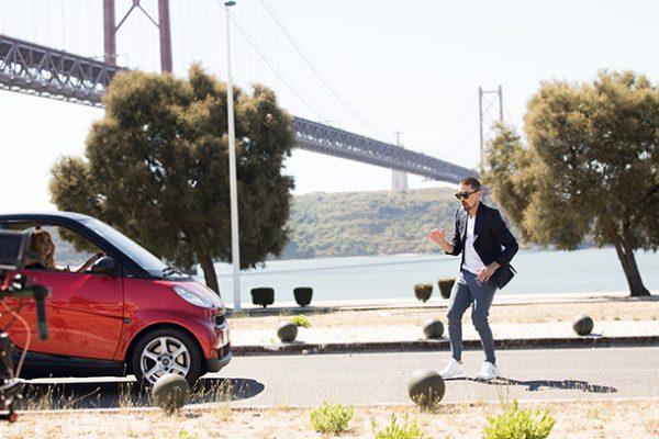 Кадр из клипа Димы Билана «Держи»