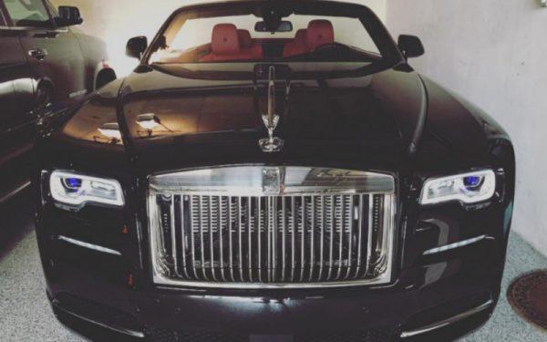 Rolls-Royce Drophead Конора МакГрегора