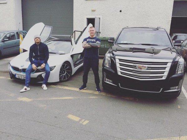 Cadillac Escalade Конора МакГрегора