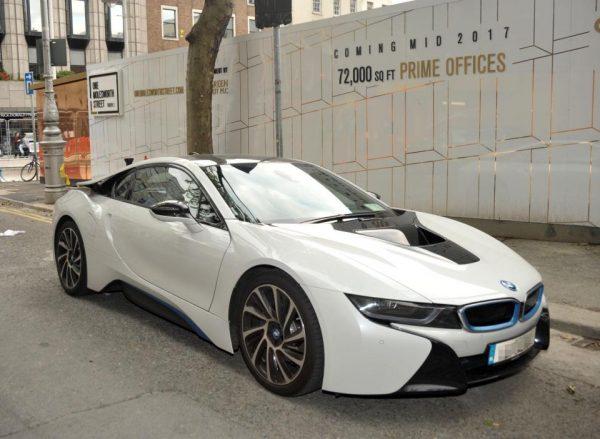 BMW i8 Конора МакГрегора