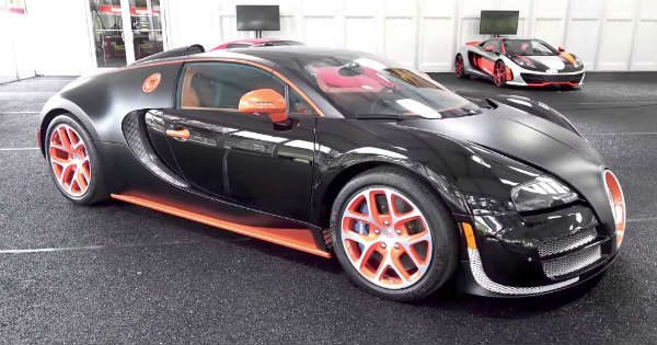 Bugatti Veyron Флойда Мейвейзера