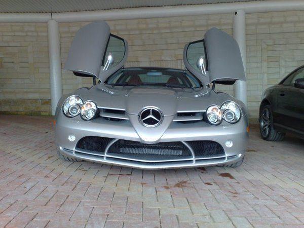 Mercedes-Benz McLaren Рамзана Кадырова