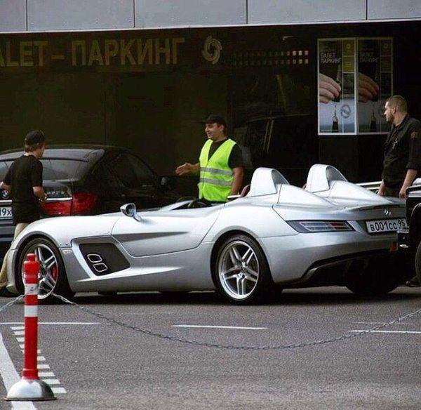 Mercedes-Benz SLR McLaren Stirling Moss Рамзана Кадырова