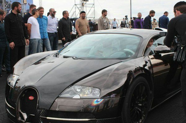 Bugatti Veyron Рамзана Кадырова