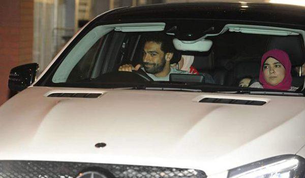 Машина Мохамеда Салаха