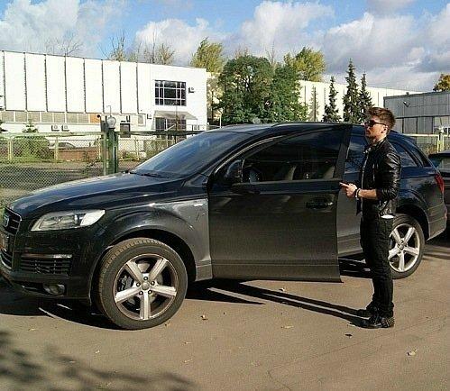 Машина Сергея Лазарева