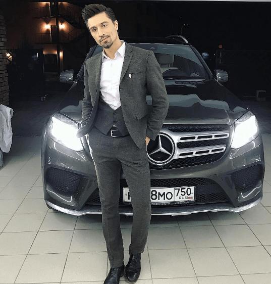 Mercedes-Benz GL Димы Билана