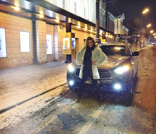 Машина Юлианны Карауловой