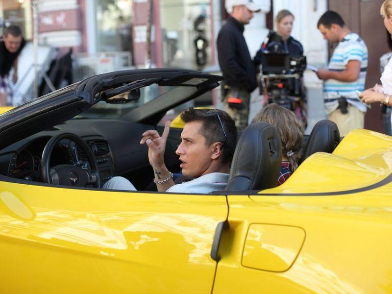 Машина из сериала «Мажор»