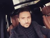Сергей Лазарев в машине
