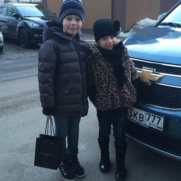 Дети Юлии Барановской и Андрея Аршавина