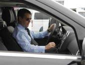 Дмитрий Медведев за рулём