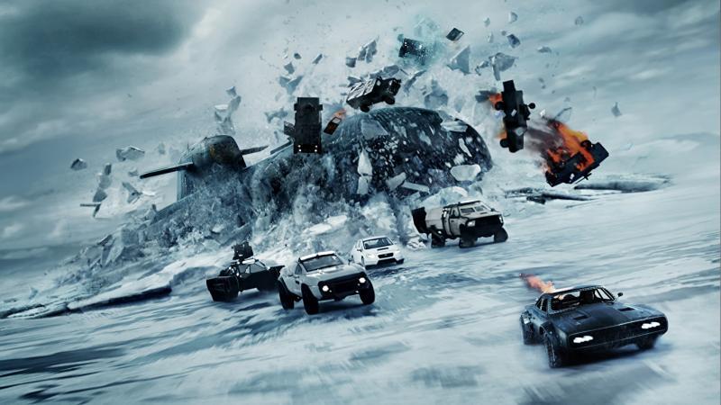 Машины из фильма «Форсаж 8»