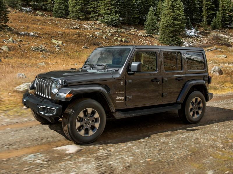 Новые Jeep Wrangler едут в Россию