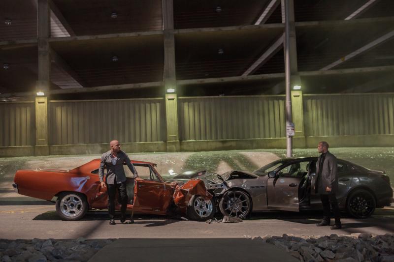 Машины из фильма «Форсаж 7»