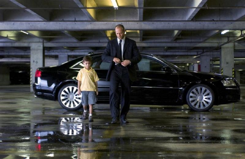 Какая машина используется в фильме «Перевозчик 3»?