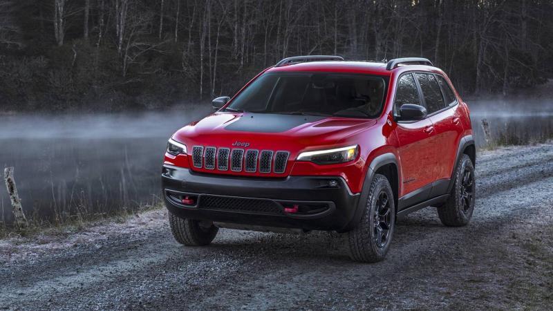 В Россию приехал обновлённый Jeep Cherokee