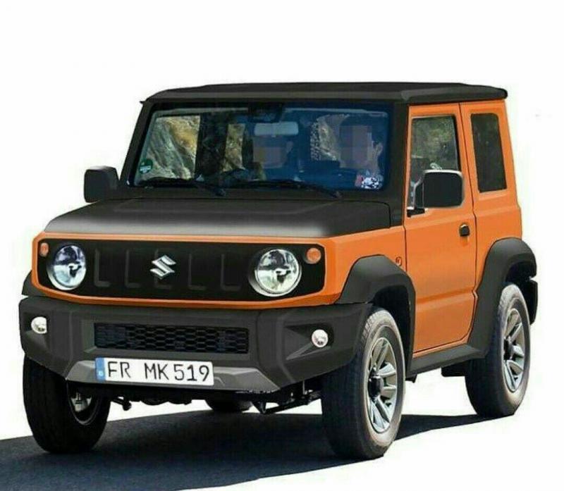 Веcной 2019 года в России начнутся продажи нового Suzuki Jimny