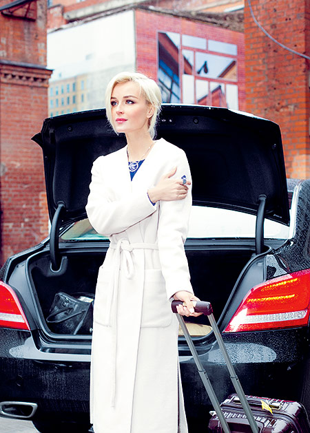 Машина Полины Гагариной
