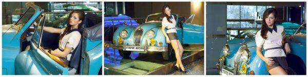 Фотосессия с автомобильной классикой