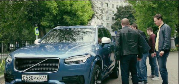 Машина из сериала Полицейский с Рублевки