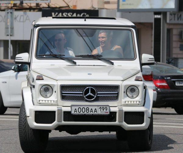 Машина Александра Овечкина