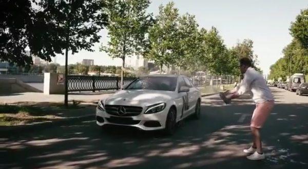 Машина Алианы Гобозовой