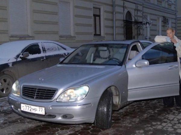 Машина Анастасии Волочковой