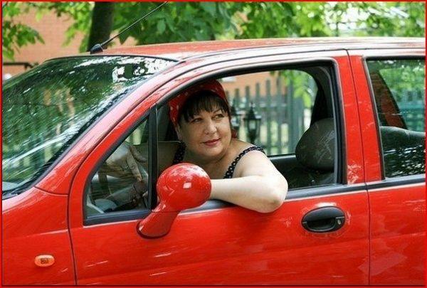 Машина Валюхи из сериала Сваты