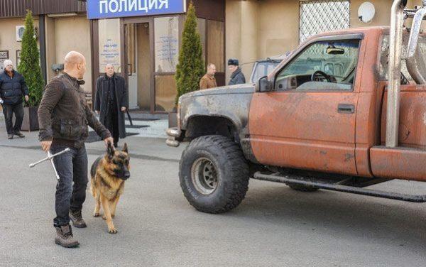 Машина Максимова из сериала Пес