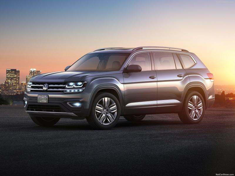 Более 1 000 кроссоверов Volkswagen Teramont будут отозваны из-за неточностей в руководстве по эксплуатации