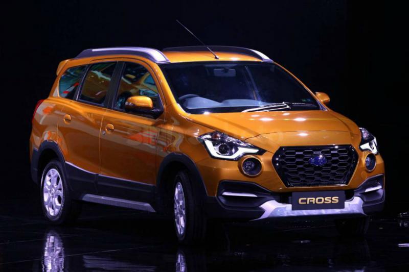 Новый кросс-вэн Datsun Go Cross произвёл фурор на азиатском рынке