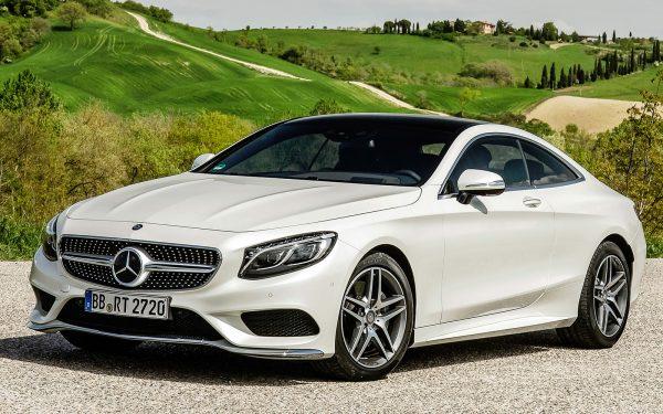 Mercedes S класс купе