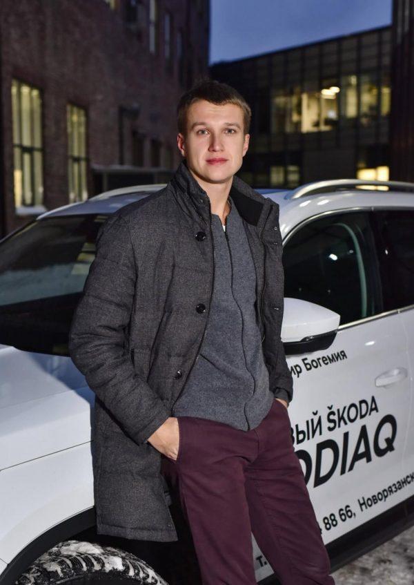 Анатолий Руденко в машине