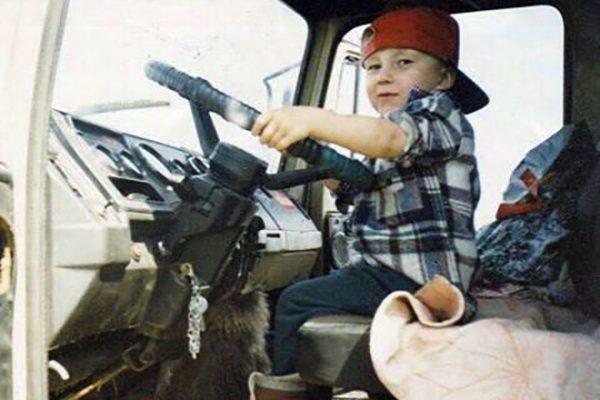 Александр Головин в детстве