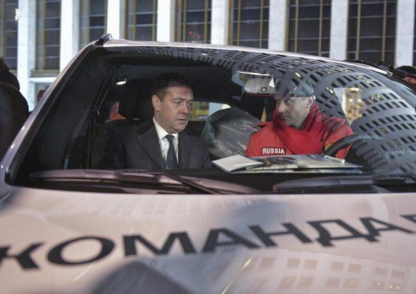 Машина Ильи Ковальчука