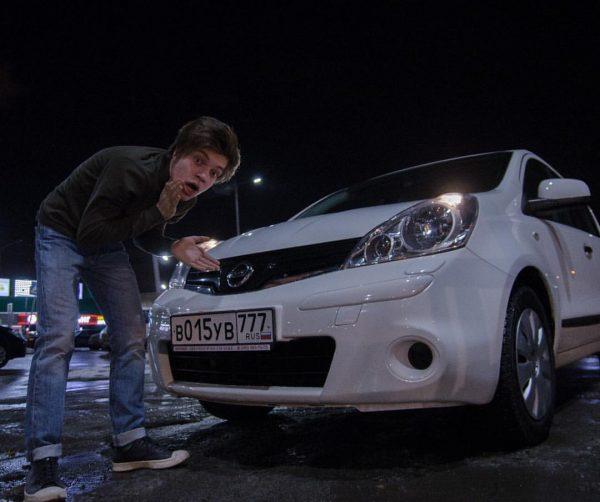 Машина Егора Клинаева
