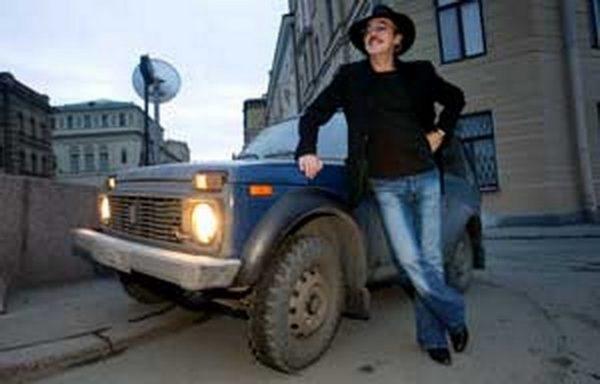 Машина Михаила Боярского