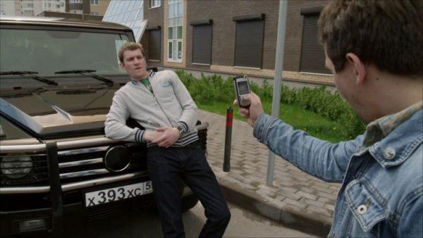 Николай Наумов возле машины