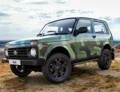 Новая Lada 4x4 в окраске