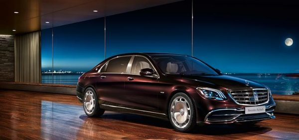 Mercedes Maybach S-Class тёмно-бордовый