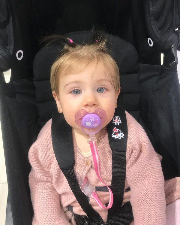 Дочь Таты Блюменкранц в машине