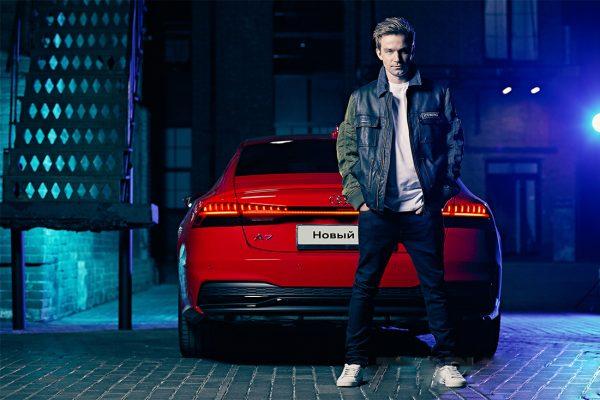 Актер и его Audi A7
